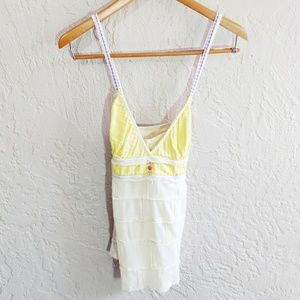 Free People Tiered Triangle Tank Top